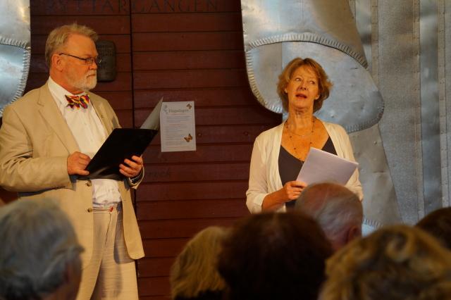 Olof Holm och Gunnel Bergström
