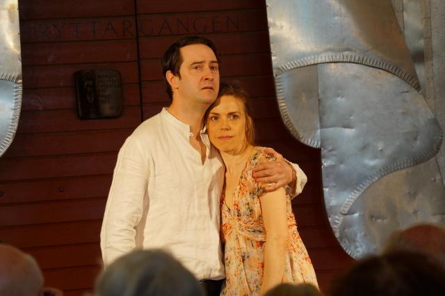 Richard Forsgren och Maria Salomaa