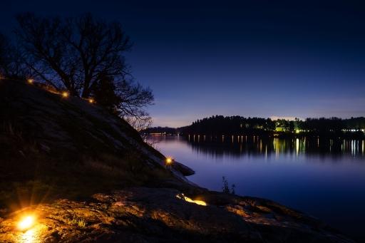 Ljusfesten @ Hagaparken och runt Brunnsviken
